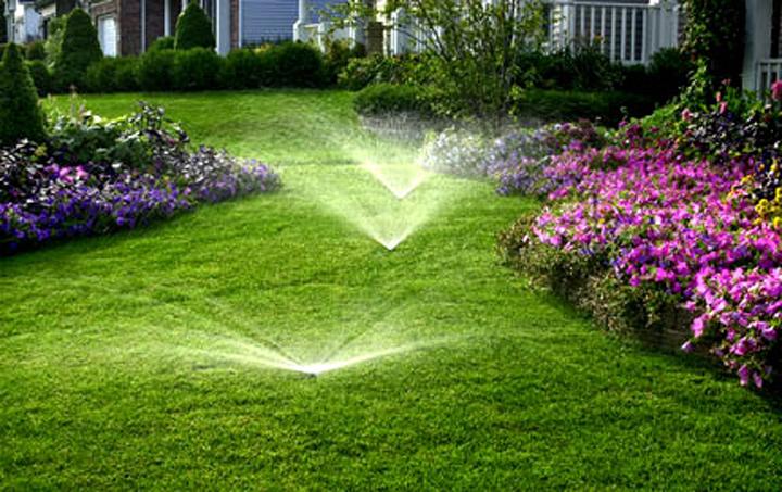 L'impianto di irrigazione